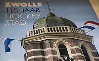 ZWOLLE - HC Zwolle, Fusieclub (ZMHC en Tempo'41 fuseren naar Hockeyclub Zwolle) in 2012. COPYRIGHT KOEN SUYK