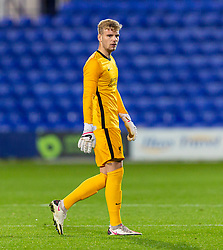 BIRKENHEAD, ENGLAND - Tuesday, September 29, 2020: Liverpool's goalkeeper Vitezslav Jaros during the EFL Trophy Northern Group D match between Tranmere Rovers FC and Liverpool FC Under-21's at Prenton Park. Tranmere Rovers won 3-2. (Pic by David Rawcliffe/Propaganda)