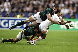 Oct 20, 2007 - Paris, France - Rugby World Cup 2007: Jason Robinson, Bakkies Botha and Fourie Du Preez. South Africa beat England 15-6 in the final match to win the Cup.  (Credit Image: © A BIBARD/FEP/Panoramic/ZUMA Press)