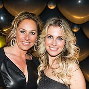 NLD/Amsterdam//20140329 - Emma Fund Raising 2014, Vivian Reijs en vriendin Jitte Milder - Sorber