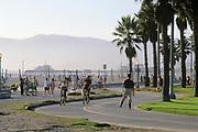 Bicycle Path, Santa Monica, California (LA)