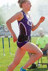 Bethanie Brown, girls 3200 meters, Maine State Track & FIeld Meet - Class B
