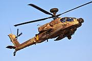 Israeli Air force Apache AH-64D Longbow in flight