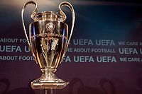 Fotball<br /> UEFA Champions League<br /> Foto: DPPI/Digitalsport<br /> NORWAY ONLY<br /> <br /> FOOTBALL - MISCS - UEFA CHAMPIONS LEAGUE 2010 - 1/8 FINAL DRAW - 18/12/2009<br /> <br /> THE CHAMPIONS LEAGUE'S TROPHY