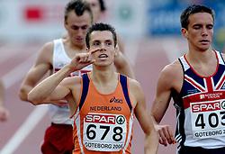 11-08-2006 ATLETIEK: EUROPEES KAMPIOENSSCHAP: GOTHENBURG <br /> Bram Som plaatst zich vrij gemakkelijk voor de finale op de 800 meter.<br /> ©2006-WWW.FOTOHOOGENDOORN.NL