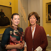 08.12.2016                   <br /> Pictured at the launch of the Shannon Airport Christmas Racing Festival at Hunt Museum were, Amy O'Regan, Limerick Racecourse and Naomi O'Nolan, The Hunt Museum. Picture: Alan Place