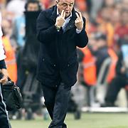 Galatasaray's coach Fatih Terim during their Turkish Super League soccer match Galatasaray between IBBSpor at the AliSamiyen Spor Kompleksi TT Arena at Seyrantepe in Istanbul Turkey on Saturday, 30 March 2013. Photo by Aykut AKICI/TURKPIX