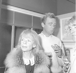 18 January 1983 - Jill Bennett, Patrick Procter and Nicholas Ferguson at an exhibition of work by Cecil Beaton at the Michael Parkin Gallery, Motcomb Street, London.<br /> <br /> Photo by Desmond O'Neill/Desmond O'Neill Features Ltd.  +44(0)1306 731608  www.donfeatures.com