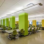 The Cameron Library study hall at the Univeristy of Alberta in Edmonton, Canada.