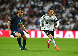 November 10, 2017 - London, England, United Kingdom - L-R England's Eric Dier and Mesut Ozil of Germany ..during International Friendly match between England  and Germany  at Wembley stadium, London  on 10 Nov  , 2017  (Credit Image: © Kieran Galvin/NurPhoto via ZUMA Press)