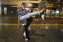 © Licensed to London News Pictures. 21/05/2021. Liverpool ,UK. Revellers enjoy the first weekend in Liverpool after lockdown restrictions were eased. Photo credit: Ioannis Alexopoulos/LNP