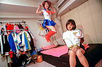 TOKYO, JAPAN --- August 1999:  Sex club workers.<br />  --- Photo by Tom Wagner/Corbis SABA