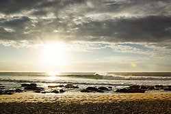 July 13, 2017 - Jordy Smith of South Africa feeling right at home during a freesurf at first light during a layday at the Corona Open J-Bay at Supertubes, Jeffreys Bay, South Africa...Corona Open J-Bay, Eastern Cape, South Africa - 13 Jul 2017. (Credit Image: © Rex Shutterstock via ZUMA Press)