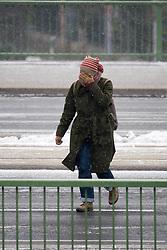 THEMENBILD - Kältewelle in Wien. Bis Donnerstag soll der Kälteeinbruch in Österreich noch andauern. In Wien wurden von der Nacht auf Montag minus 15,8 Grad gemessen. Aufgenommen am 27.02.2018 in Wien, Österreich // Cold Wave in Europe at the end of February. Vienna, Austria on 2018/02/27. EXPA Pictures © 2018, PhotoCredit: EXPA/ Michael Gruber