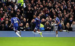 Ruben Loftus-Cheek of Chelsea celebrates scoring his sides second goal against Scunthorpe United - Mandatory byline: Robbie Stephenson/JMP - 10/01/2016 - FOOTBALL - Stamford Bridge - London, England - Chelsea v Scunthrope United - FA Cup Third Round