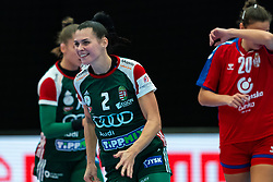 Szandra Szollosi-Zacsik of Hungary in action during the Women's EHF Euro 2020 match between Serbia and Hungary at Sydbank Arena on december 06, 2020 in Kolding, Denmark (Photo by RHF Agency/Ronald Hoogendoorn)