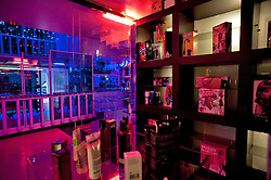 Fasano (BR), aprile 2013.Show Girl night club, locale notturno con striptease e sex shop