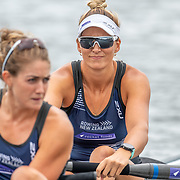 Kelsi Walters Race the premier pair<br /> <br /> Racing the Christmas Regatta on Lake Karapiro, Cambridge, New Zealand. Saturday 14 December 2019  © Copyright photo Steve McArthur / www.photosport.nz