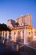 Plaza de Cesar Chavez,  The Fairmont San Jose, Market Street, San Jose, California, USA