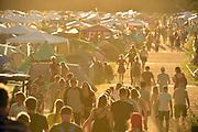 Nederland, Beuningen, Ewijk, 30-6-2018 Festival Down the Rabbit Hole , dtrh . Warm en stoffig op de tweede dag van het festival .Foto: Flip Franssen