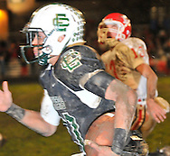 The Elyria Catholic Panthers varsity football team advanced in Div. IV with a win over Huron on November 5, 2010. © David Richard