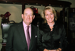 VISCOUNT & VISCOUNTESS PORTMAN at a party in London on 16th September 1997.MBE 20