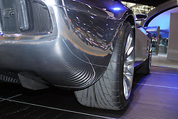 2005 CATA (Chicago Auto Show), Ford Cobra Concpet in polished Stainless Steel.