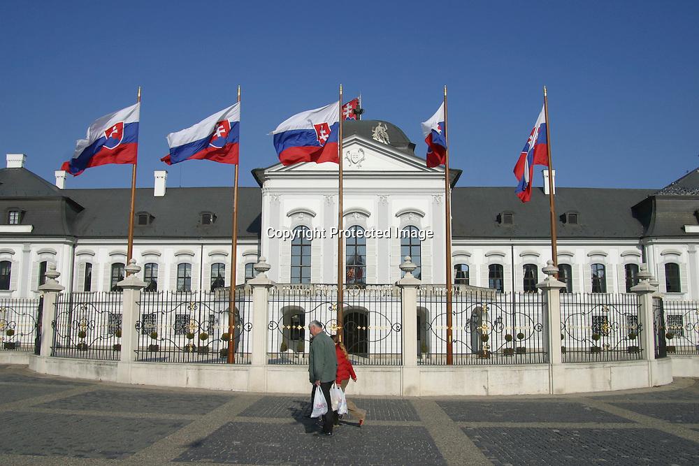 Slovakian whitehouse, Bratislava, slovakia