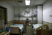 Israel, empty hospital room