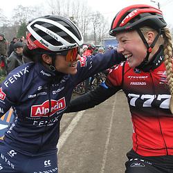 01-01-2020: Wielrennen: DVV trofee veldrijden: Baal:Annemarie Worst: Ceylin Alvarado