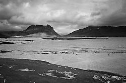 Coastline at Arnesey, Strandir, west Iceland - Fjöruborð við Árnesey á Ströndum