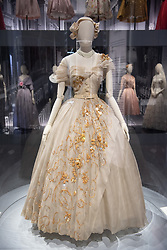© Licensed to London News Pictures. 30/01/2019. London, UK. is showing as part of the V&A Christian Dior: Designer of Dreams Exhibition. From 1947 to the present day, Christian Dior: Designer of Dreams traces the history and impact of one of the 20th century's most influential couturiers, and the six artistic directors who have succeeded him, to explore the enduring influence of the fashion house. Photo credit: Ray Tang/LNP