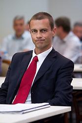 Aleksander Ceferin, president of NZS at  PrvaLiga draw before new football season 2011/2012 in Slovenia, on June 23, 2011, in Hotel Kokra, Brdo pri Kranju, Slovenia. (Photo by Vid Ponikvar / Sportida)