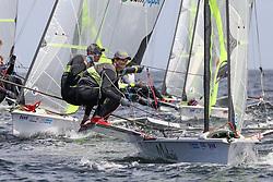 , Kiel - Kieler Woche 17. - 25.06.2017, 49er - ITA 23 - Jacopo PLAZZI - Andrea TESEI - CCANIENE