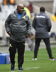 Cape Town-180825- Mamelodi Sundowns Coach Pitso Mosimane in a clash against  Cape Town City in the MTN 8 semi-final at Cape Town Stadum.Photographer :Phando Jikelo/African News Agency/ANA