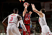 MoraschiniRiccardo of Olimpia Milano <br /> Openjobmetis Varese - A X Armani Exchange Milano <br /> Basket Serie A LBA 2020/2021<br /> Varese  06 December 2020.<br /> Foto Mattia Ozbot / Ciamillo-Castoria