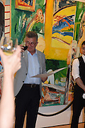 ALI  GURELI, Dinner to celebrate the 10th Anniversary of Contemporary Istanbul Hosted at the Residence of Freda & Izak Uziyel, London. 23 June 2015