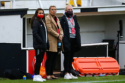 Tanya Oxtoby manager of Bristol City Women prior to kick off- Mandatory by-line: Will Cooper/JMP - 18/10/2020 - FOOTBALL - Twerton Park - Bath, England - Bristol City Women v Birmingham City Women - Barclays FA Women's Super League