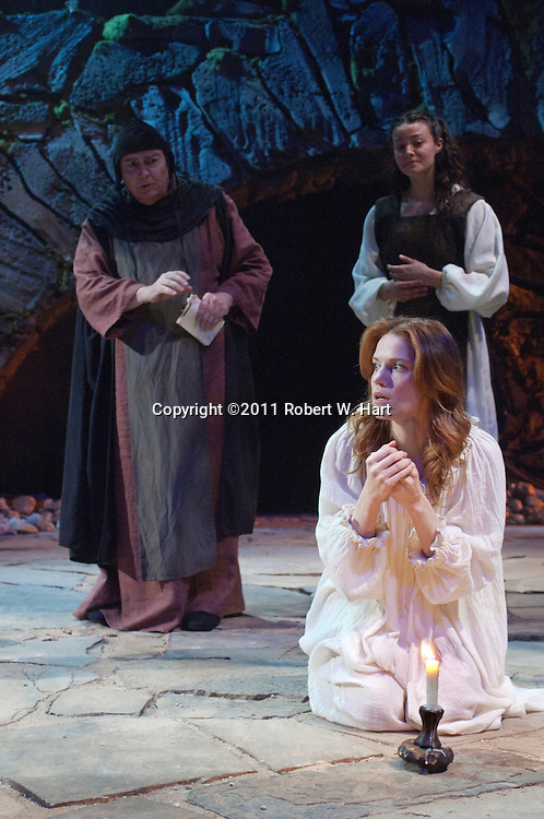 in the role of Lady Macbeth during a Sunday May 12, 2011 of the Trinity Shakespeare Festival's production of Macbeth at TCU's Hays Theatre in Fort Worth..Robert W. Hart/Special Contributor