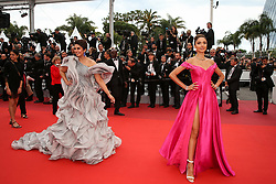 Huma Qureshi and Patricia Contreras attend the screening of A Hidden Life (Une Vie Cachee) during the 72nd annual Cannes Film Festival on May 19, 2019 in Cannes, France. Photo by Shootpix/ABACAPRESS.COM
