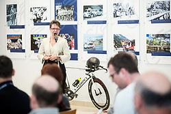 Sonja Gole during press conference of KK Adria Mobil Cycling Club before new season 2018, on February 22, 2018 in Novo mesto, Slovenia. Photo by Vid Ponikvar / Sportida