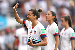 USA's Carli Lloyd celebrates after the final whistle