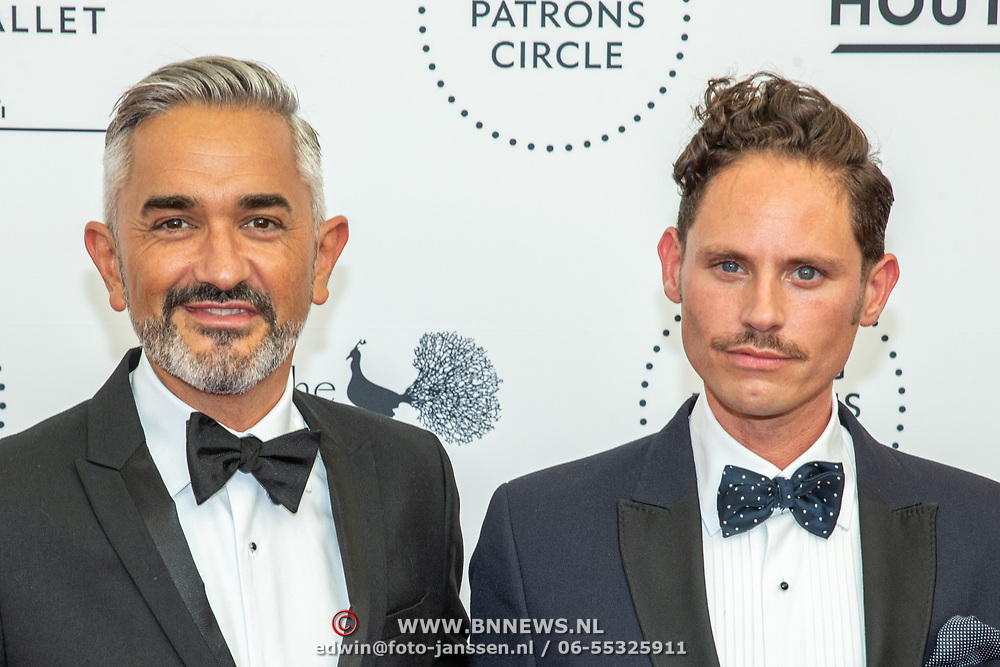 NLD/Amsterdam/20190628 - inloop International Young Patrons Gala 2019, Nick  Lynch en partner Edwin Oudshoorn