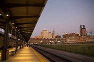 Tågstationen i St. Paul Minnesota.<br /> <br /> Foto: Christina Sjögren