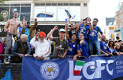 Leicester City supporters line the streets for the open top parade - Mandatory by-line: Robbie Stephenson/JMP - 16/05/2016 - FOOTBALL - Leicester City FC, Barclays Premier League Winners 2016 - Leicester City Victory Parade