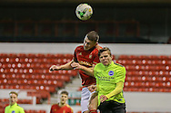 Brighton U18 Archie Davies  during the FA Youth Cup match between U18 Nottingham Forest and U18 Brighton at the City Ground, Nottingham, England on 10 December 2015. Photo by Simon Davies.