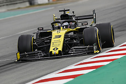 February 19, 2019 - Barcelona, Spain - 03 RICCIARDO Daniel (aus), Renault Sport F1 Team RS19, action during Formula 1 winter tests from February 18 to 21, 2019 at Barcelona, Spain - : FIA Formula One World Championship 2019, Test in Barcelona, (Credit Image: © Hoch Zwei via ZUMA Wire)
