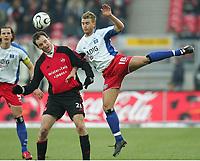 v.l. Markus Schroth, Rene Klingbeil<br /> Bundesliga 1. FC Nuernberg - Hamburger SV<br /> Nürnberg<br /> <br /> Norway only