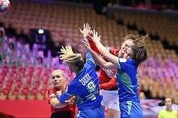 HERNING, DENMARK - DECEMBER 4: Anne Mette Hansen during the EHF Euro 2020 Group A match between Denmark and Slovenia in Jyske Bank Boxen, Herning, Denmark on December 4, 2020. Photo Credit: Allan Jensen/EVENTMEDIA.