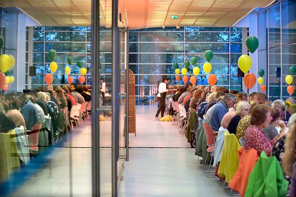 Nederland, Nijmegen, 21-9-2018Nijmeegse Kunstnacht. Kunstdiner in het Valkhofmuseum.Foto: Flip Franssendgfoto editie nijmegen194466